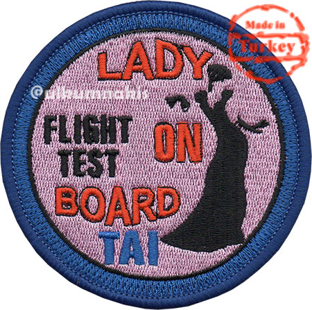 Tai Flight Test Lady